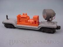 1. Brinquedos antigos - Lionel - Vagão Holofote 6520 Searchlight Car Ano 1950