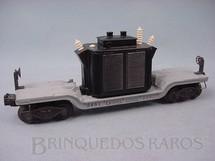 1. Brinquedos antigos - Lionel - Vagão 2461 Transformer Car Ano 1947 a 1948