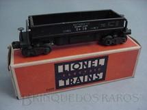 1. Brinquedos antigos - Lionel - Vagão 5459 Automatic Dumping Ore Car with Eletronic Control Ano 1946