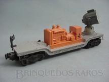 1. Brinquedos antigos - Lionel - Vagão Holofóte 3620 Rotating Searchlight Car Ano 1954