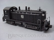 1. Brinquedos antigos - Lionel - Locomotiva 623 Santa Fé Yard Switcher Ano 1952 a 1954