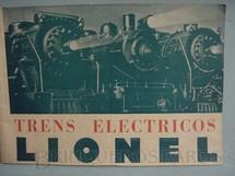 1. Brinquedos antigos - Lionel - Catálogo Lionel Ano 1937 edição em português