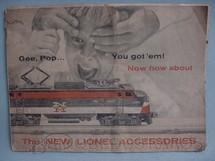 1. Brinquedos antigos - Lionel - Catálogo Lionel Ano 1956