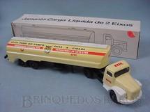 1. Brinquedos antigos - Juê - Cavalo Mecânico Scania Vabis L111 com carreta CCPL carga líquida