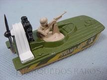 1. Brinquedos antigos - Matchbox - Inbrima - Swamp Rat Superfast verde e branco Brazilian Matchbox Inbrima 1970
