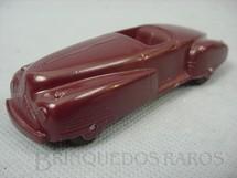 1. Brinquedos antigos - Tootsietoy - Carro Conversível com 11,00 de comprimento Década de 1940