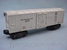 1. Brinquedos antigos - Lionel - Vagão 6472 Box Refrigerator Ano 1950
