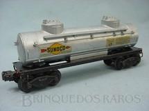 1. Brinquedos antigos - Lionel - Vagão 2465 Sunoco Tank Car ano 1946 a 1948