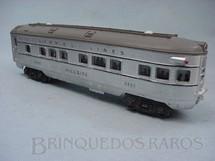 1. Brinquedos antigos - Lionel - Carro de Passageiros 2423 Hillside Observation Car Ano 1952 a 1953