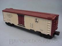 1. Brinquedos antigos - Lionel - Vagão 3662 Automatic Refrigerated Milk Car Ano 1955 a 1966