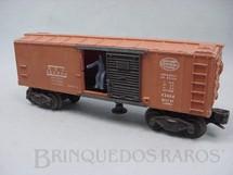 1. Brinquedos antigos - Lionel - Vagão X3464 N.Y.C. Box Car figura com movimento Ano 1952
