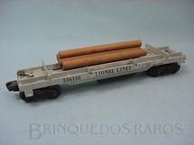 1. Brinquedos antigos - Lionel - Vagão 3361 Log Dump Ano 1955 a 1958