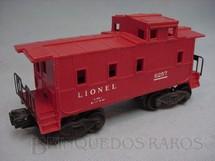 1. Brinquedos antigos - Lionel - Vagão 6257 Caboose Ano 1948 a 1956