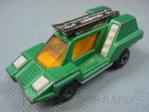 1. Brinquedos antigos - Matchbox - Inbrima - Cosmobile Superfast verde metálico Brazilian Matchbox Inbrima 1970