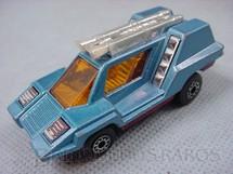 1. Brinquedos antigos - Matchbox - Inbrima - Cosmobile Superfast azul Brazilian Matchbox Inbrima 1970