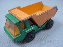 1. Brinquedos antigos - Matchbox - Inbrima - Atlas Truck Superfast verde metálico Brazilian Matchbox Inbrima 1970
