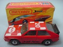 1. Brinquedos antigos - Matchbox - Inbrima - Audi Quattro Superfast vermelho Brazilian Matchbox Inbrima 1982