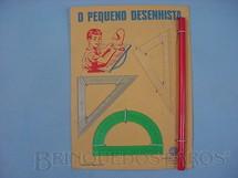 1. Brinquedos antigos - Sem identificação - O Pequeno Desenhista Década de 1960