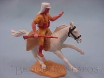 1. Brinquedos antigos - Timpo Toys - Soldado da Legião Estrangeira a cavalo com fuzil