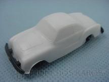 1. Brinquedos antigos - Sem identificação - Volkswagen Karmann Ghia com 6,00 cm de comprimento branco brinde Toddy Década de 1960