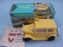 1. Brinquedos antigos - Trol - Carro avulso para Pega Pega Trol amarelo Adesivos ainda por colar