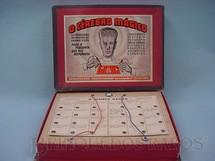 1. Brinquedos antigos - Kiehl - Jogo de perguntas e respostas O Cérebro Mágico Caixa assinada Kraus Década de 1950