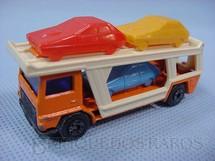 1. Brinquedos antigos - Matchbox - Caminhão Cegonha Bedford Car Transporter Superfast