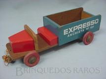 1. Brinquedos antigos - Man. Brinquedos Castelo - Caminhão com 27,00 cm de comprimento Expresso Anchieta Ano 1953