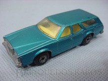 1. Brinquedos antigos - Matchbox - Mercury Cougar Villager Superfast azul metálico