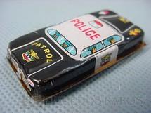 1. Brinquedos antigos - Sem identificação - Carro de Policia, Police, com 5,00 cm de comprimento