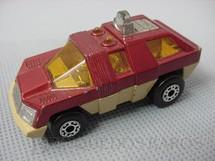 1. Brinquedos antigos - Matchbox - Planet Scout Superfast vermelho metálico