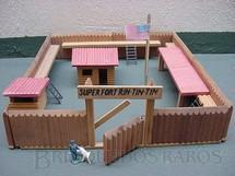 1. Brinquedos antigos - Trol - Conjunto Super Fort Rin Tin Tin Década de 1970