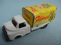 1. Brinquedos antigos - Metalma - Caminhão Flores com 10,00 cm de comprimento Década de 1960
