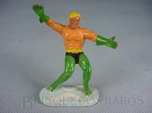 1. Brinquedos antigos - Casablanca e Gulliver - Aquaman de plástico pintado Década de 1970