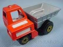 1. Brinquedos antigos - Matchbox - Site Dumper Superfast caçamba prata