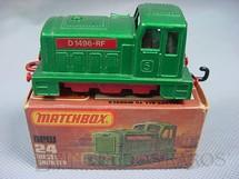 1. Brinquedos antigos - Matchbox - Diesel Shunter, Superfast, verde
