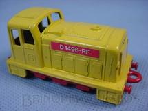 1. Brinquedos antigos - Matchbox - Diesel Shunter, Superfast, amarelo