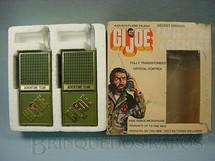 1. Brinquedos antigos - Illco - G.I.Joe Walkie Talkies Série Adventure Team  Década de 1970