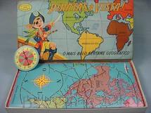 1. Brinquedos antigos - Coluna - Jogo Piratas a Vista Década de 1960