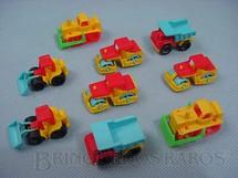 1. Brinquedos antigos - Estrela - Veiculos Mini Frota década de 1980 Preço por unidade