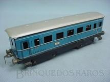 1. Brinquedos antigos - Estrela - Carro de Passageiros E.F.E. azul