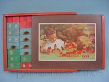 1. Brinquedos antigos - Coluna - Conjunto de Montar Futuro Engenheiro completo Década de 1960
