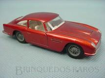 1. Brinquedos antigos - Solido - Aston Martin DB5 Vantage vermelho metálico Datado 1-1964