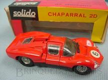 1. Brinquedos antigos - Solido-Brosol - Chaparral 2D vermelho Fabricado pela Brosol Solido brésilienne Datado 11-1967