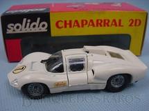 1. Brinquedos antigos - Solido - Chaparral 2D branco Datado 11-1967