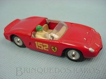1. Brinquedos antigos - Solido - Ferrari 2.5 Litre vermelha Datada 1-1964