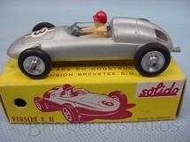 1. Brinquedos antigos - Solido - Porsche F2 prata