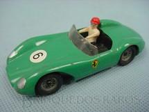 1. Brinquedos antigos - Solido-Brosol - Ferrari Type 500 TRC verde Fabricada pela Brosol Solido brésilienne Década de 1970