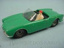 1. Brinquedos antigos - Solido-Brosol - Alfa Romeo Giulietta Spider verde Fabricada pela Brosol Solido brésilienne Década de 1970