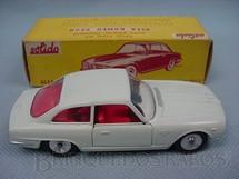 1. Brinquedos antigos - Solido - Alfa Romeo 2600 branca Datada 3-1963